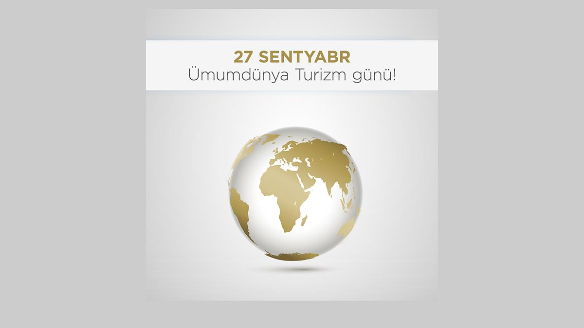 27 sentyabr Ümumdünya Turizm Günü münasibətilə Dövlət Turizm Agentliyi tərəfindən bir sıra tədbirlərin keçirilməsi planlaşdırılır.